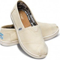 Natural Canvas Youth Classics | TOMS.com
