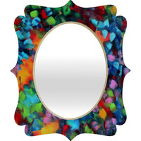 DENY Designs Home Accessories | Madart Inc. Color Blast Quatrefoil Mirror