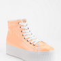 Urban Outfitters - Jeffrey Campbell Hiya Patent Flatform-Sneaker