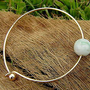 hawaii style bracelet  ,handcrafted with jade