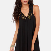 Ladakh September Sweets Studded Black Dress