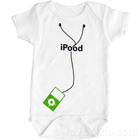 iPood Baby Snapsuit