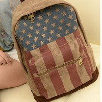 singlelady  Flag vintage backpack