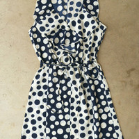 On The Dot Dress [3874] - $36.00 : Vintage Inspired Clothing &amp; Affordable Fall Frocks, deloom | Modern. Vintage. Crafted.