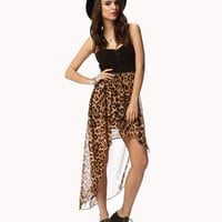 Leopard Print Corset Dress | FOREVER 21 - 2049225248