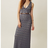 Korovilas Katie Lace Maxi Dress
