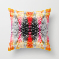 Fire Throw Pillow by Glanoramay