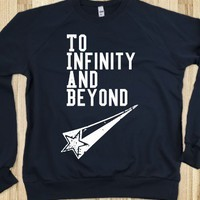 To infinity and Beyond - DirectionerDesignzz - Skreened T-shirts, Organic Shirts, Hoodies, Kids Tees, Baby One-Pieces and Tote Bags