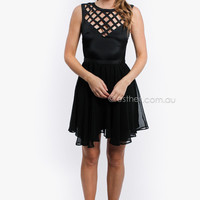 little kate cocktail dress - black at Esther Boutique