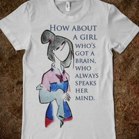 Mulan - CallieTee - Skreened T-shirts, Organic Shirts, Hoodies, Kids Tees, Baby One-Pieces and Tote Bags