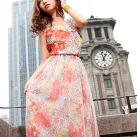 [FREE SHIPPING] Soft Silk Long Dress