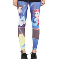 Disney The Little Mermaid Ariel And Eric Leggings Pre-Order | Hot Topic