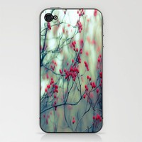 Winter Berries iPhone &amp; iPod Skin by Ann B. | Society6