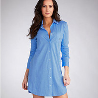Lauren Ralph Lauren: Essentials Roll Cuff Sleepshirt