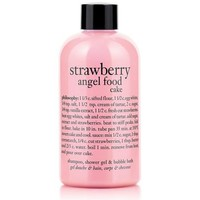 strawberry angel food cake | shampoo, shower gel &amp; bubble bath | philosophy summer sale