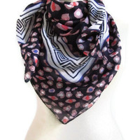Traditional Turkish Yemeni scarf- Cotton Scarf ..square scarves