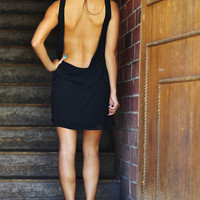 Back In Action Dress: Midnight Black | Hope's