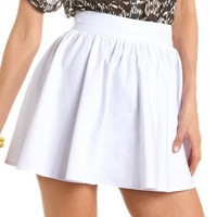Millennium Stretch Full Skirt: Charlotte Russe