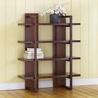 Modern 4-Shelf Shelving - Bookcases and File Cabinets - Cost Plus World Market