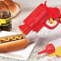 Condiment Gun ? Funny, Bizarre, Amazing Pictures & Videos