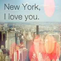 New York I love you by MursBlanc on Etsy
