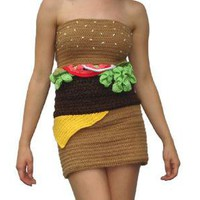 Hamburger Dress ? Funny, Bizarre, Amazing Pictures &amp; Videos