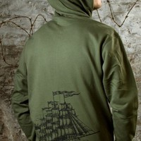 Men&#x27;s Ship of Fools Hoodie by MIR Apparel