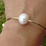 hawaii style baby size bracelet  ,handcrafted with pearl