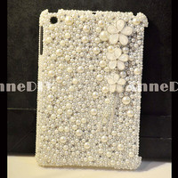 Pearl iPad Case, iPad cover, iPad 4 case, iPad 3 case, iPad 2 case, iPad mini case, Bling iPad case