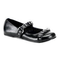 O-Ring Mary Jane Flats PL-DAISY-05 by Demonia by Pleaser USA