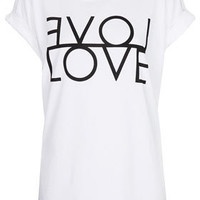 Fashion Targets Love Tee - Jersey Tops  - Clothing