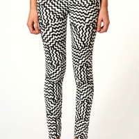 Laura Zig Zag High Waisted Leggings