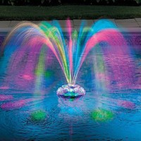 Musical Underwater Light Show &amp; Fountain - Improvements