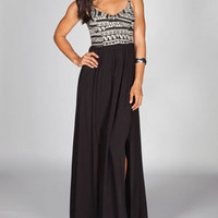 FULL TILT Ethnic Print Corset Maxi Dress 214746100 | Dresses | Tillys.com