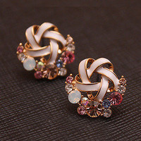 [grhmf2300013]Fashion Lovely Diamond Earrings