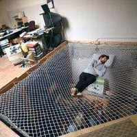 Mesh Suspended Hammock ? Funny, Bizarre, Amazing Pictures &amp; Videos