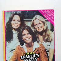 Vintage The New Charlie's Angels 150 Piece Jigsaw Puzzle 1977