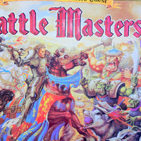 Vintage Milton Bradley's Battle Masters Board Game 1992