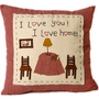 I Love U! I Love Home Pillow Case