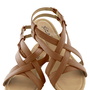 Saunter in the Sand Sandal in Dune | Mod Retro Vintage Sandals | ModCloth.com