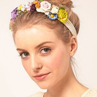 Johnny Loves Rosie | Johnny Loves Rosie Garland Headband at ASOS