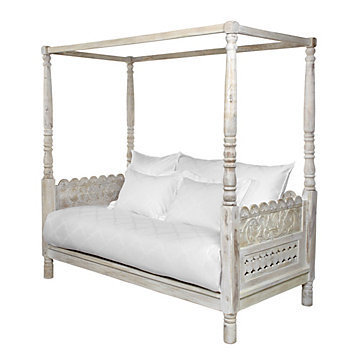 Z Gallerie - Pradesh Day bed - Whitewash