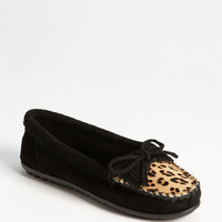 Minnetonka &#x27;Leopard Kilty&#x27; Moccasin | Nordstrom