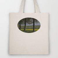 Between the Trees  Tote Bag by JUSTART