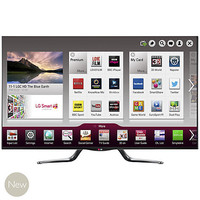Buy LG 55LA790W LED HD 1080p 3D Smart TV, 55 Inch with Freeview HD and 4x 3D Glasses online at John Lewis