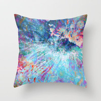 Dragon Erupt Throw Pillow by Gréta Thórsdóttir