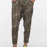 Urban Outfitters - Staring At Stars Printed Silky Harem Pant