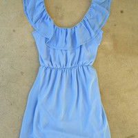 Junebug Dress in Periwinkle [3756] - $34.00 : Vintage Inspired Clothing &amp; Affordable Summer Frocks, deloom | Modern. Vintage. Crafted.
