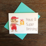8 Bit Depixel Super Mario Birthday Card