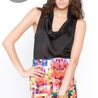 Motel Kaleidoscope Betty Skirt- Motel Betty Skirt- Motel Skirts- $49.99